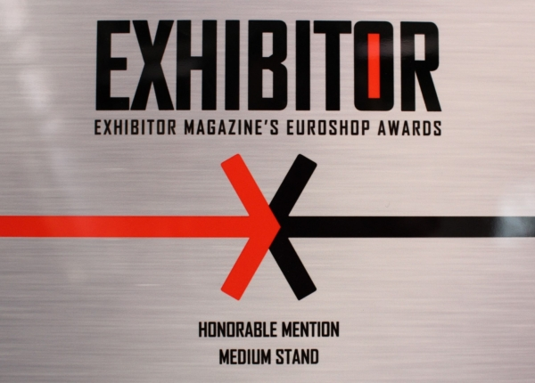 EXHIBITOR杂志的EUROSHOP(杜塞尔多夫零售业展览会)奖