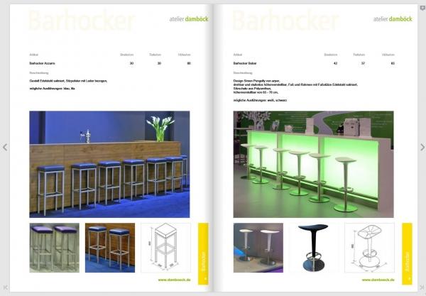 atelier damböck的展会家具目录