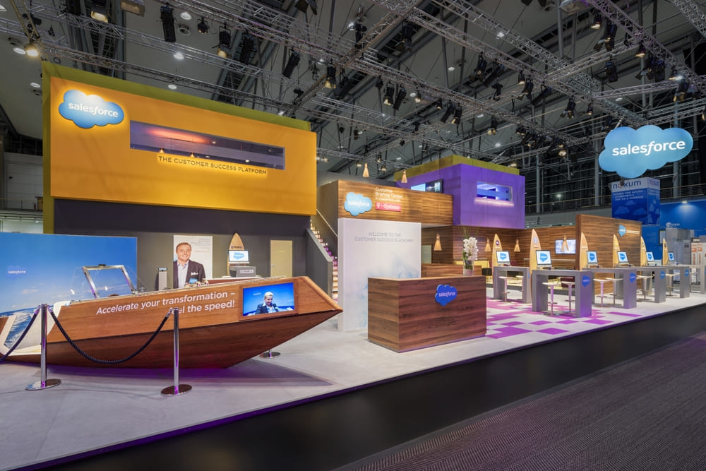 创造性的展会设计——Salesforce