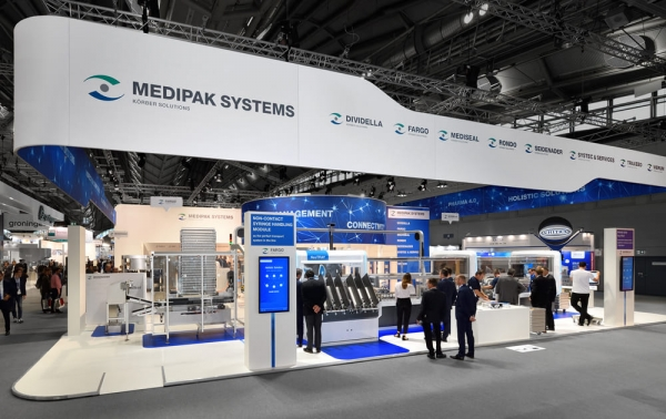 Medipak系统 - Achema(国际化学工程、环境保护和生物技术展览会), 法蘭克福