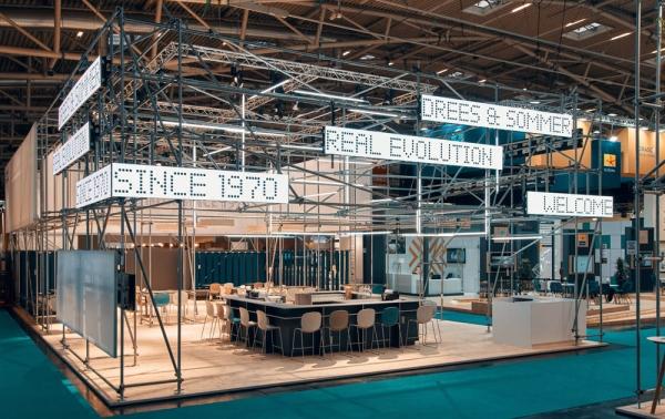 Trade fair stands
